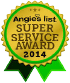 2014 Angies List Super Service Award Winner